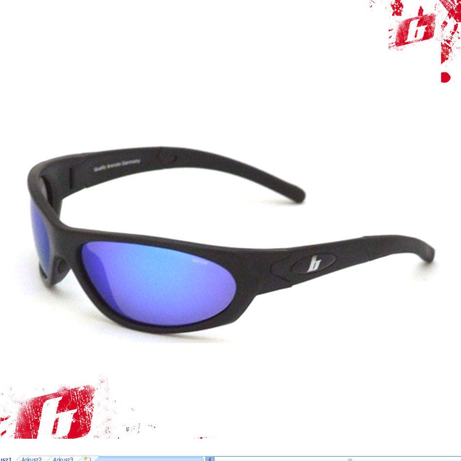 8169matt black blue revo