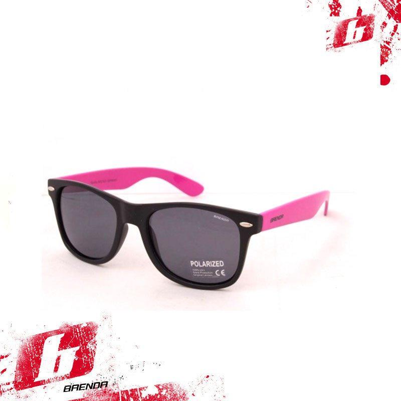1868ff38ab8e Солнцезащитные очки BRENDA A501L-mat-black-smoke-pink